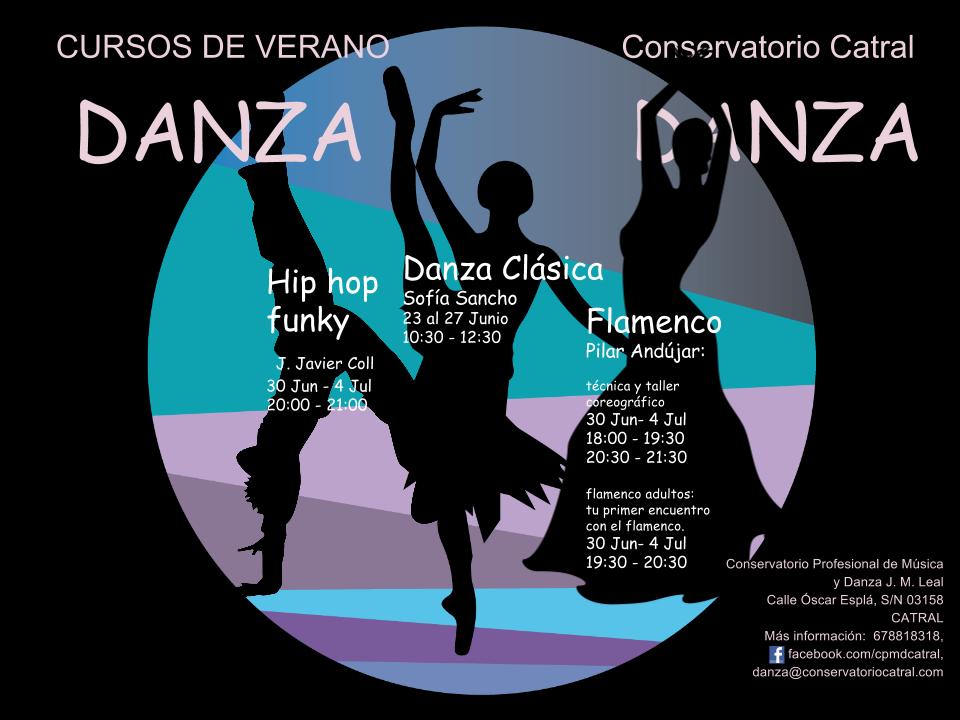 Cartel Cursos de Verano 2014