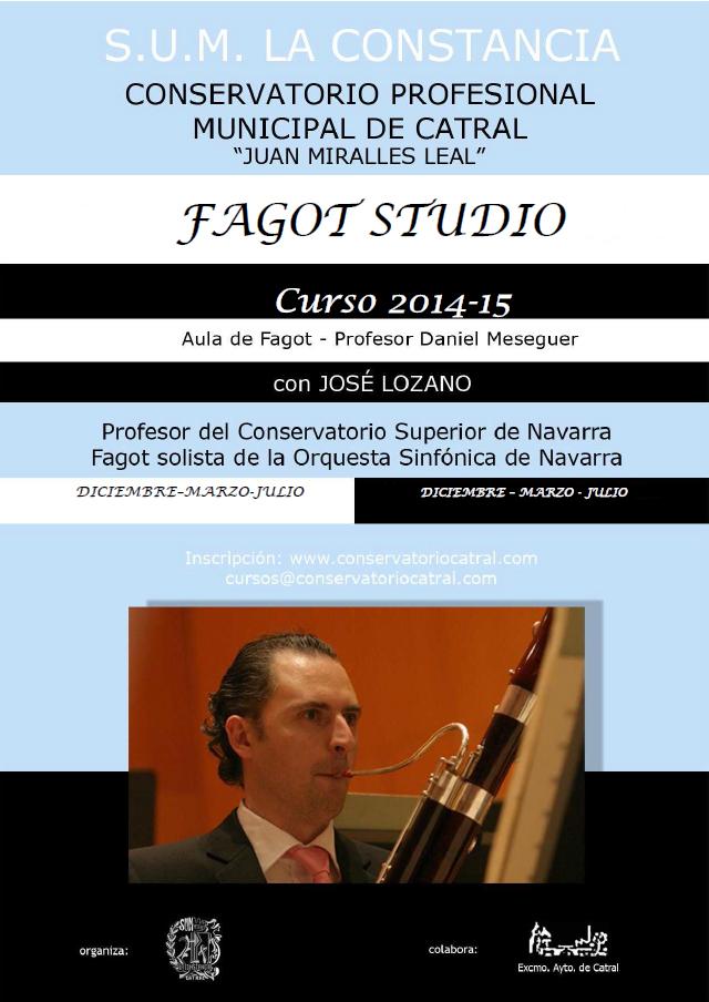 2014_09 Curso de Fagot 2014 2015 cartel web