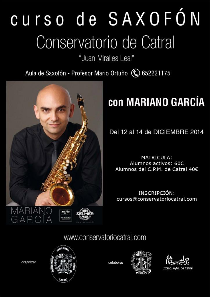 2014_12_12 a 14 Curso de Saxofón - web